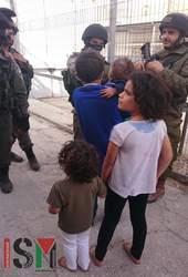 Kids in                                                           Hebron